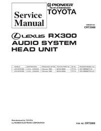 Serviceanleitung Pioneer KEX-M9086ZT-91/UC