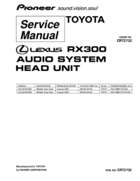 Service Manual Pioneer KEX-M8017ZT/ES