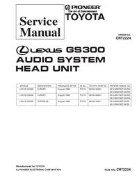Service Manual Pioneer KEX-M8476ZT-02/ES