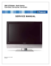 Service Manual Polaroid FLM-4034B
