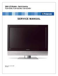Manuale di servizio Polaroid FLM-4034B