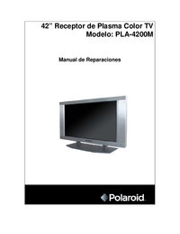 Service Manual Polaroid PLA-4200M