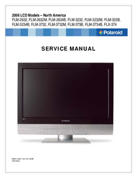 Service Manual Polaroid FLM-2634B