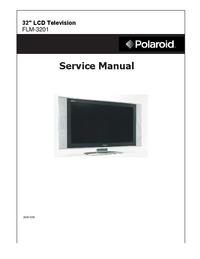 Instrukcja serwisowa Polaroid FLM-3201