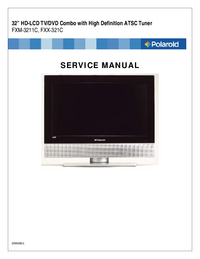 Service Manual Polaroid FXM-3211C