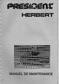Servicehandboek President Herbert