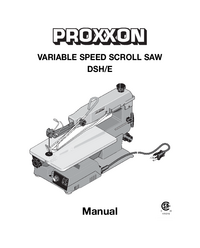 Manual del usuario Proxxon DSH/E