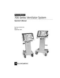 User Manual PuritanBennett 740