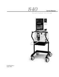 Manual de servicio PuritanBennett 840