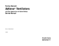 Manuale di servizio PuritanBennett Achieva®