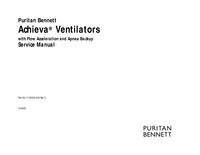 Service Manual PuritanBennett Achieva®