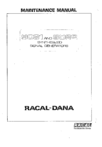 Racal-7289-Manual-Page-1-Picture