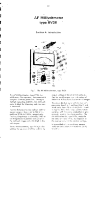 Servizio e manuale utente Radiometer RV36