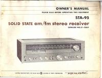 Manuale d'uso, Cirquit Diagramma Realistic STA-95