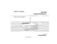 Instrukcja obsługi Realistic Pro-2600