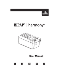 Manual del usuario Respironics Harmony