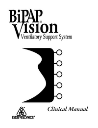 User Manual Respironics Bipap Vision