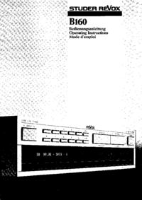 Revox-7303-Manual-Page-1-Picture