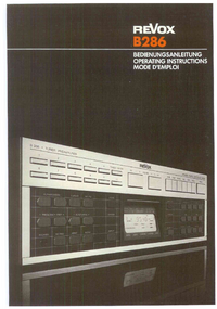 Revox-7307-Manual-Page-1-Picture