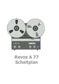 Revox-7382-Manual-Page-1-Picture