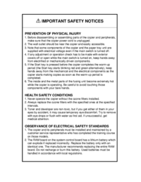 Service Manual Ricoh Aficio 200