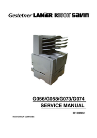 Service Manual Ricoh AP2610N