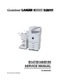 Service Manual Ricoh Aficio 2228C