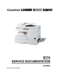 Manual de servicio Ricoh AC204