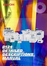 Manuale di servizio Ricoh D124