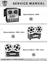 Manual de servicio Roberts 5000 Series