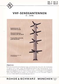 Gegevensblad RohdeUndSchwarz HA 7