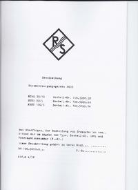 Service Manual RohdeUndSchwarz NGRS 30/10