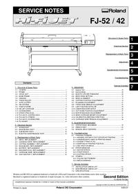 Service Manual Roland FJ-42