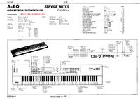 Manual de servicio Roland A-80