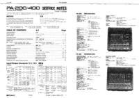 manuel de réparation Roland PA-200
