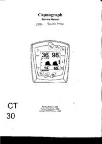 Manual de servicio SIMSGraseby Capnograph 8400