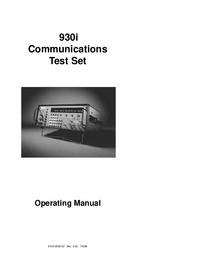 User Manual Sage 930i