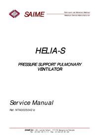 Manual de servicio Saime HELIA-S