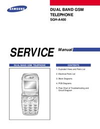 Service Manual Samsung SGH-A400