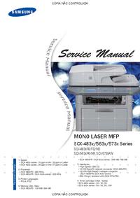 manuel de réparation Samsung SCX-573x Series