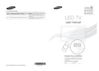 Manual do Usuário Samsung 6400
