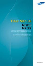 Manual del usuario Samsung ME65B