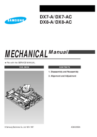 Service Manual Samsung DX8-A