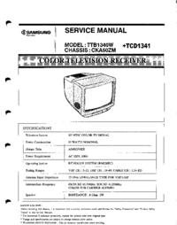 Servicehandboek Samsung TTB1340W