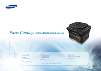 Liste des pièces Samsung SCX-4600 series