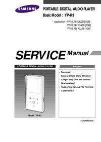 manuel de réparation Samsung YP-K3