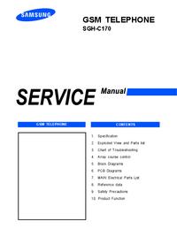Manual de serviço Samsung SGH-C170