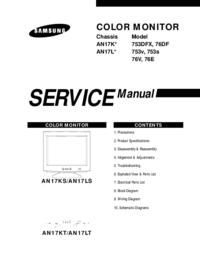 Manual de servicio Samsung AN17K