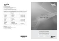 User Manual Samsung 330