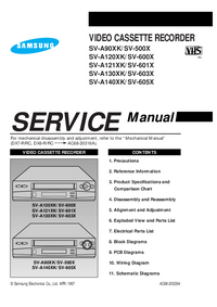 Service Manual Samsung SV-500X